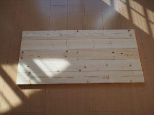 【リメイク】1枚板になった天板