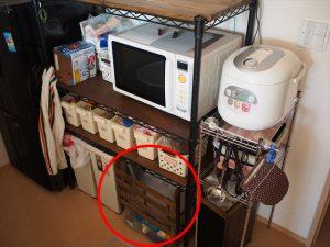 【リメイク】すのこ製ゴミ箱after