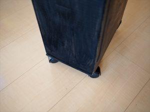 【リメイク】ゴミ袋入れのキャスター