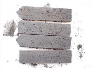 【アイアン風】黒ペンキ×鉄粉