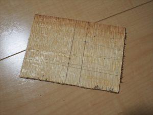 【リメイク】ベニヤ板の仕切り