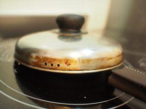 【スキレット】鍋用の蓋を代用