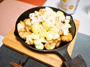 【スキレット】鶏肉の炒め物