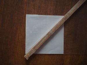【リメイク】紙に端材をセットする