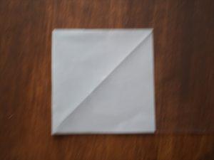 【リメイク】紙で正方形を作る