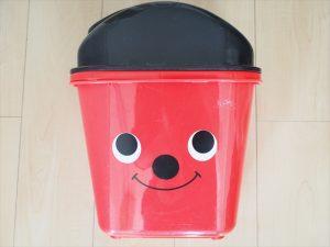 【プラスチック×アイアンペイント】ゴミ箱